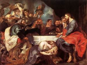 Luke 7 by Reubens