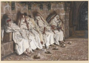 five virgins by Tissot