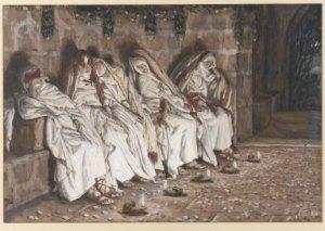 five virgins by Tissot
