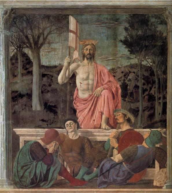 Resurrection by PIERO della FRANCESCA